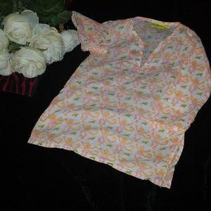 roberta roller rabbit tunic coverup dress